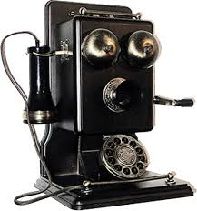 تلفن قدیمی و اولین تلفن در ایران