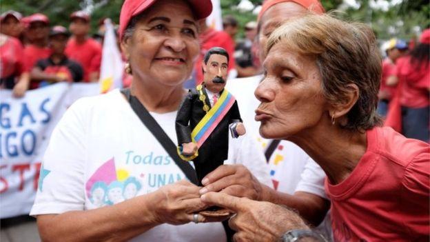 مردم ونزوئلا و رئیس جمهور ونزوئلا