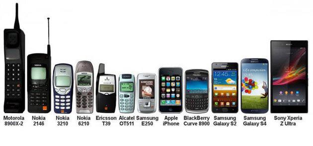 تاریچه موبایل ها و همراه اول